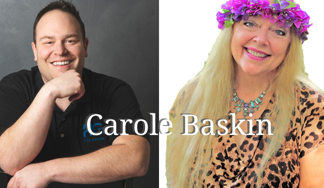 Craig Staley with Carole Baskin